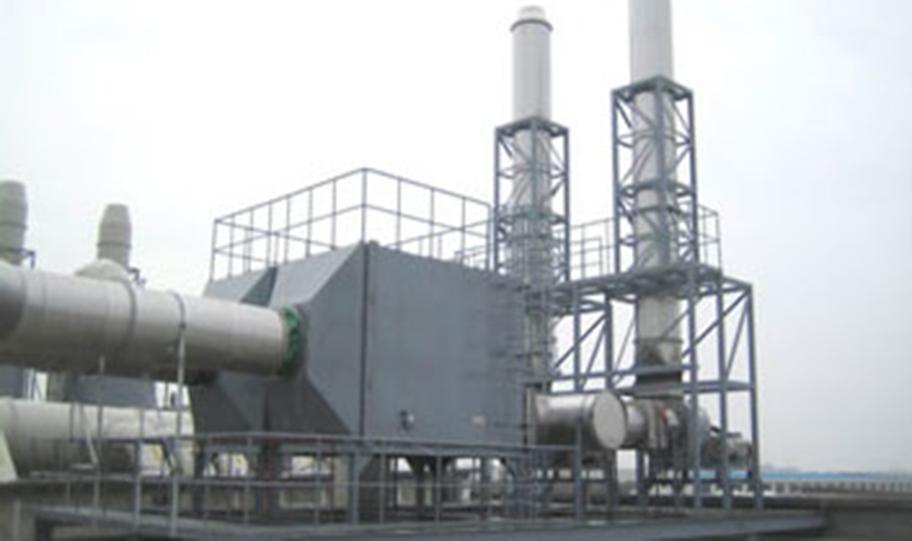 VOC处理设备的VOC废气处理的方法